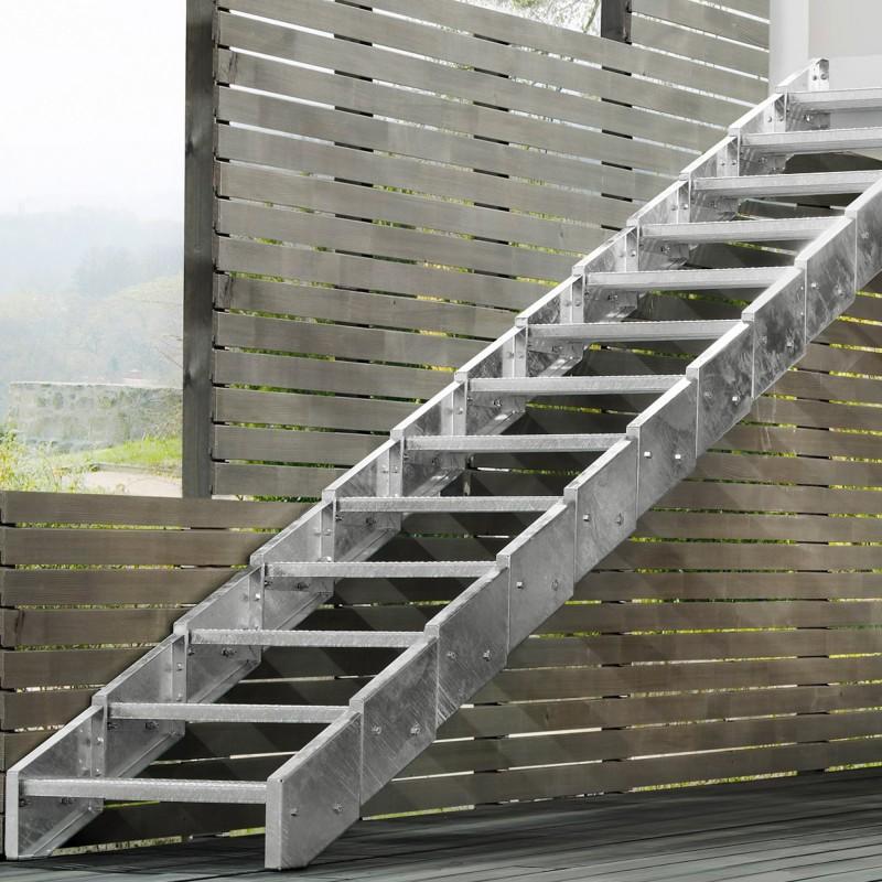 Escalier extérieur Innotec  sans rampe
