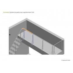 Balustrade Escalier York - Kit de démarrage