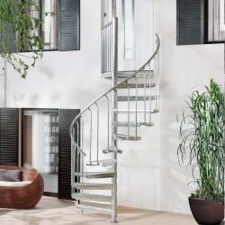 Escalier suspendu Sydney + palier et rampe