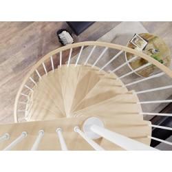"Escalier en colimaçon Caparo ""Edition blanc"""