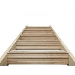 Escalier en bois Casablanca: droit [CB1]