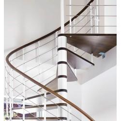 Escalier en bois Casablanca: 1/4 tournant, [CB5]