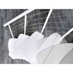 """Escalier en colimaçon Flamenco """"Edition noir"""""""