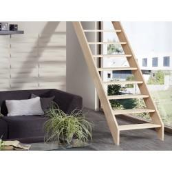 Escalier en bois Savoy: droit [SY1]