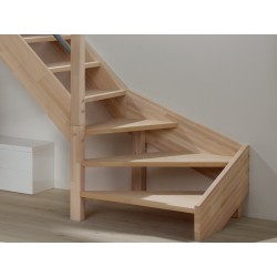 Escalier extérieur en Kit K2 WPC