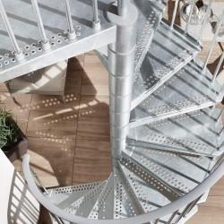 Escalier extérieur en Kit Arke Civik Zink