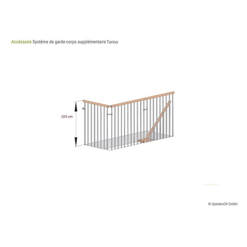 Balustrade Escalier Torino